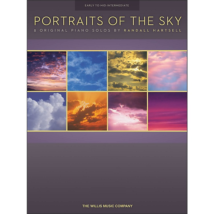Willis MusicPortraits Of The Sky - 8 Early To Mid-Intermediate Piano Solos