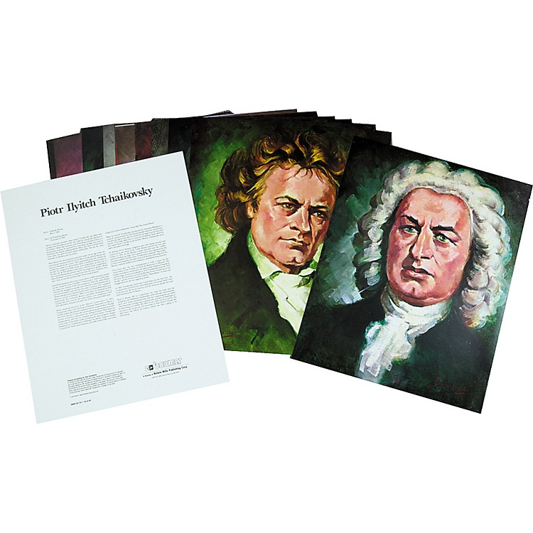 AlfredPortraits of Famous ComposersSet 1 Classical
