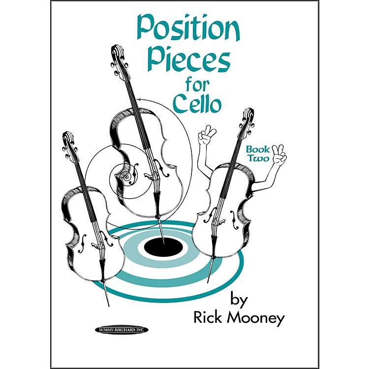AlfredPosition Pieces for Cello Book 2