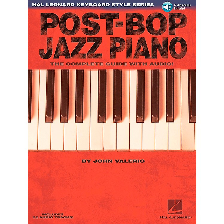 Hal LeonardPost-Bop Jazz Piano - The Complete Guide (Book/CD)