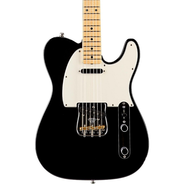 Fender Custom Shop Postmodern Telecaster NOS Electric Guitar Black Maple