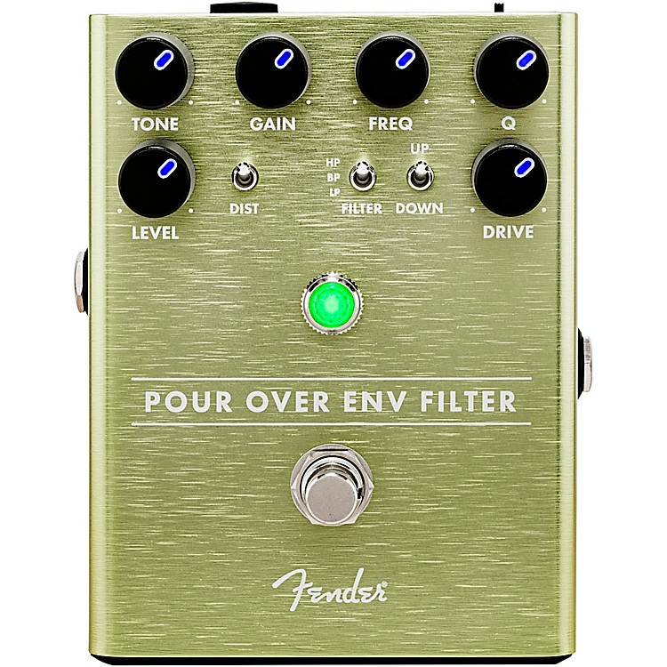Fender Pour Over Envelope Filter Effects Pedal