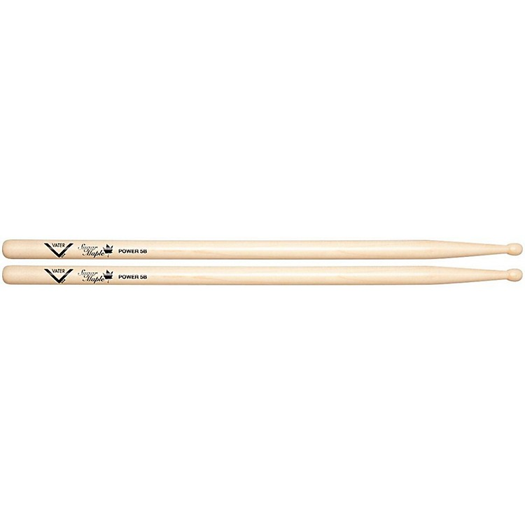 Vater Power 5B Sugar Maple Drum Stick  Wood