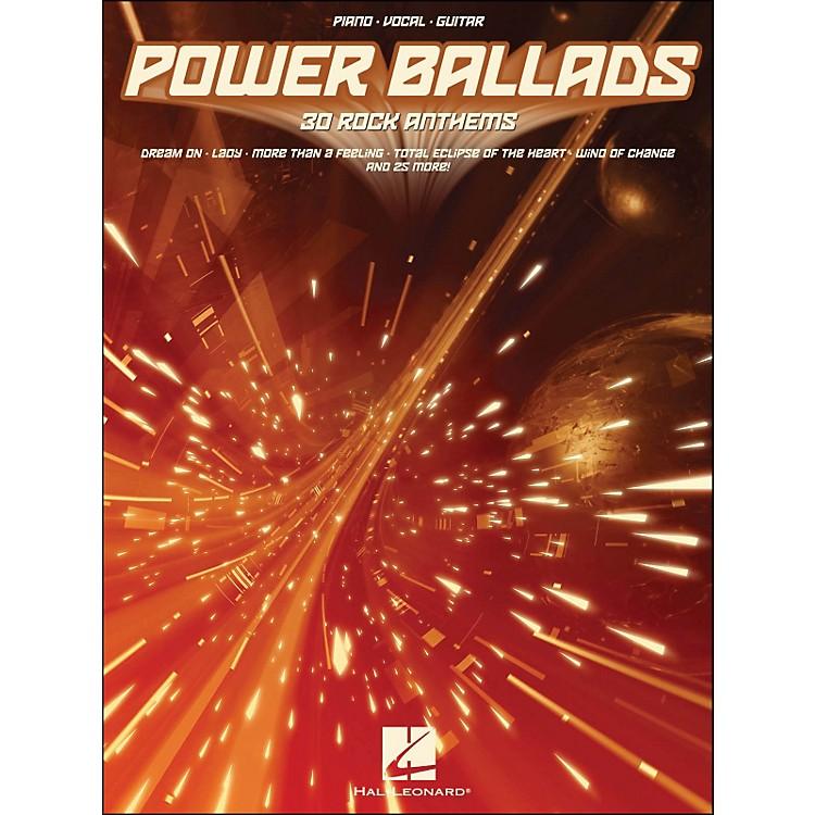 Hal LeonardPower Ballads 30 Rock Anthems arranged for piano, vocal, and guitar (P/V/G)