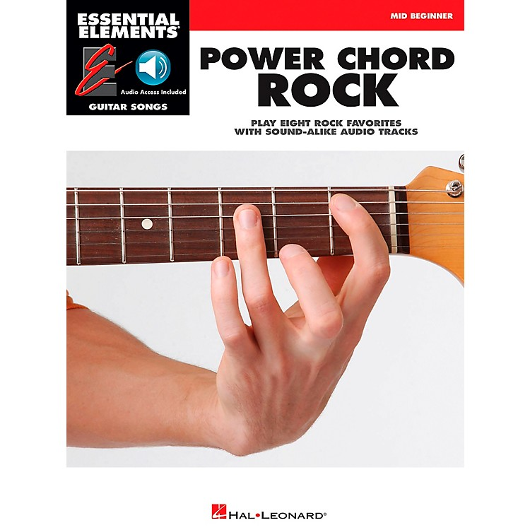 Hal LeonardPower Chord Rock - Essential Elements Guitar Songs (Book/CD) Mid Beginner