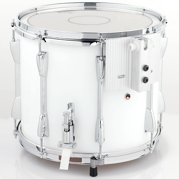 YamahaPower-Lite Marching Snare DrumWhite Wrap14 in.