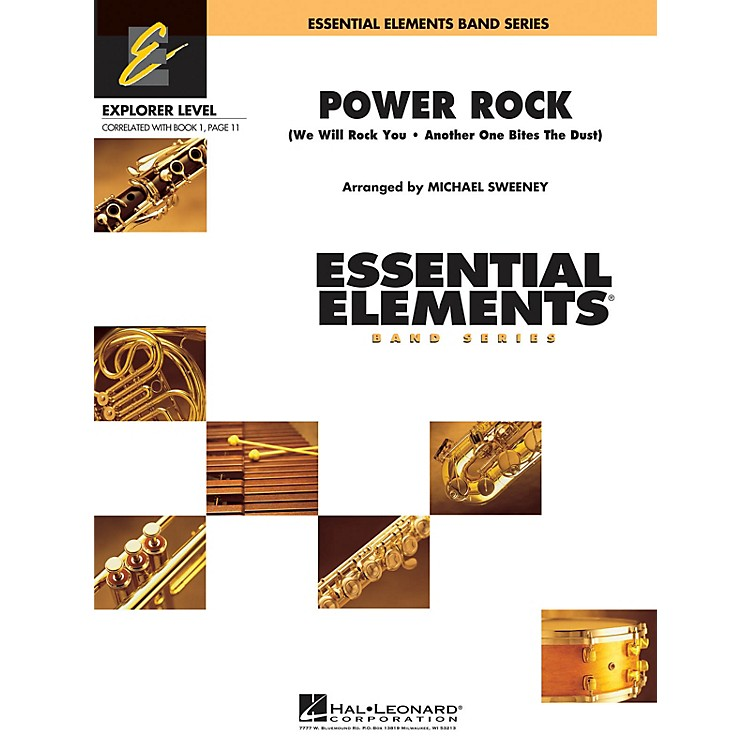 Hal LeonardPower Rock Concert Band Level 0.5 by Queen Arranged by Michael Sweeney