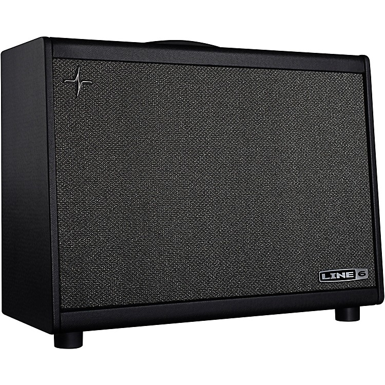 Line 6 Powercab 112 Plus 250W 1x12 Active Speaker Cab Black and Silver