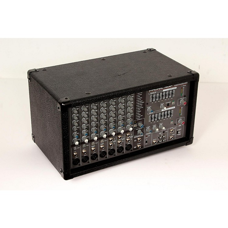 Phonic Powerpod 740 Plus 2X220W 7-Channel Powered Mixer with Digital Effects  888365790985