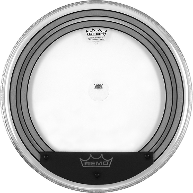 RemoPowersonic Clear Bass Drumhead22 in.