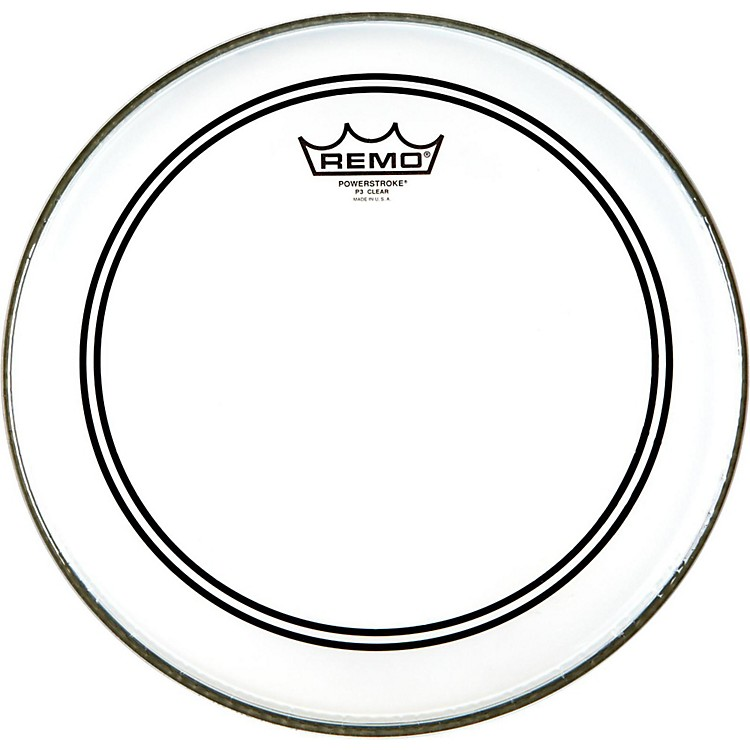 Remo Powerstroke 3 Clear Batter  18 in.