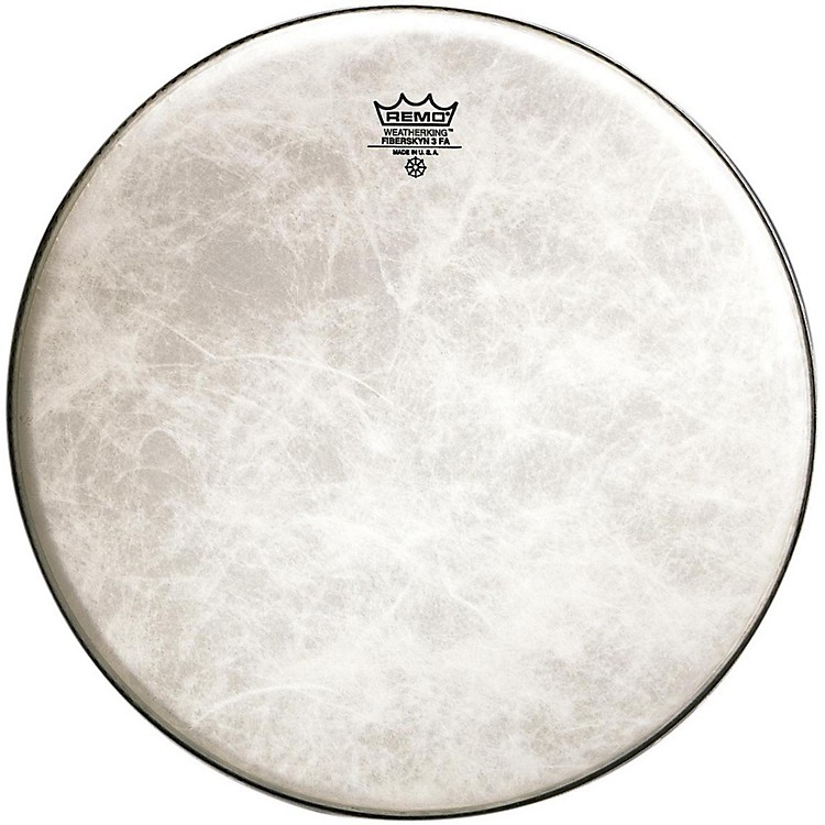 Remo Powerstroke 3 Fiberskyn Thin Bass Drum Heads 20 in.