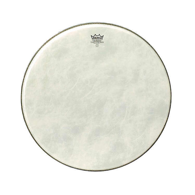 RemoPowerstroke 3 Simulated Calfskin Fiberskyn FA Bass Drumhead20 in.