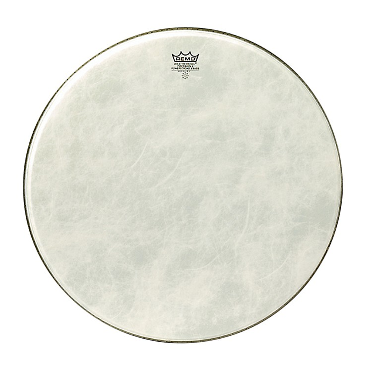 Remo Powerstroke 3 Simulated Calfskin Fiberskyn FA Bass Drumhead  22 in.