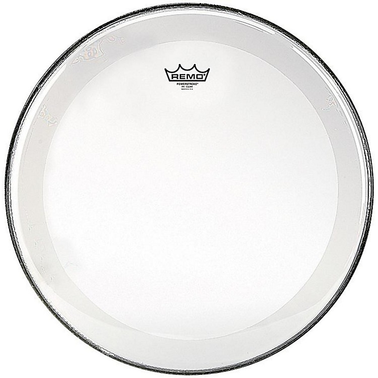 Remo Powerstroke 4 Clear Batter Drum Head 15 in.