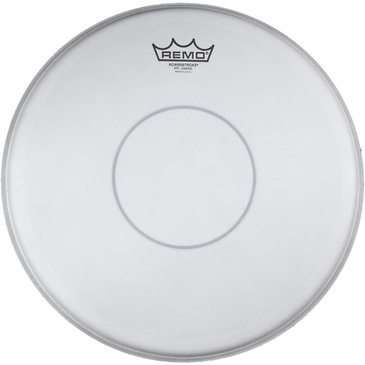 Remo Powerstroke 77 Coated Clear Dot Drumhead 14 in. Coated