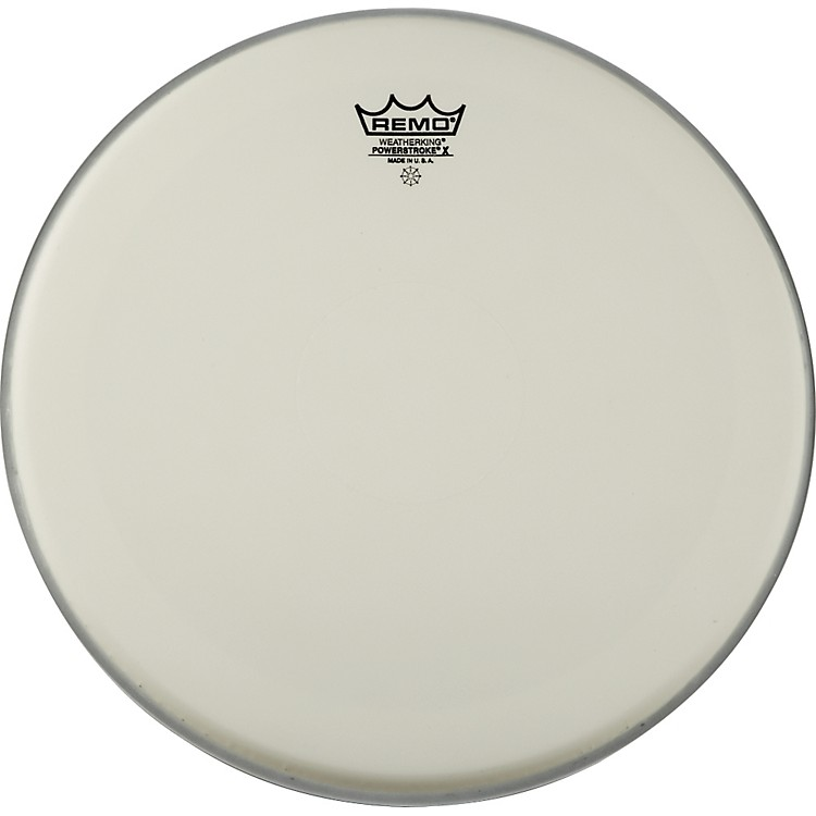 RemoPowerstroke X Coated Drumhead with Clear Dot13 in.