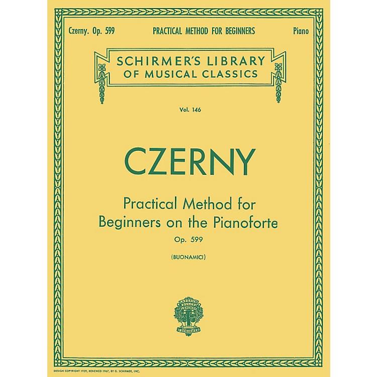 G. SchirmerPractical Method For Beginners Pianoforte Op. 599