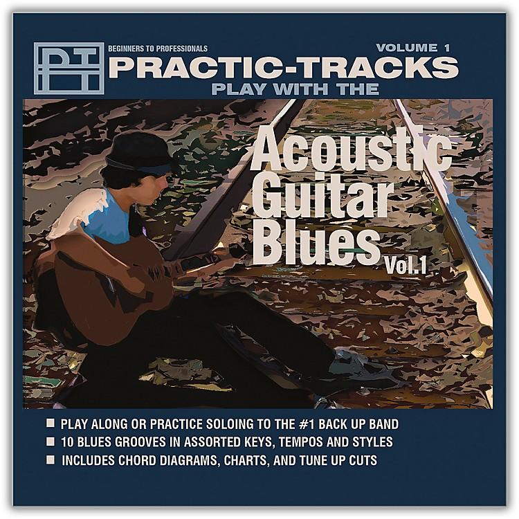Hal LeonardPractice Tracks Acoustic Guitar Blues Vol 1 Play Along CD