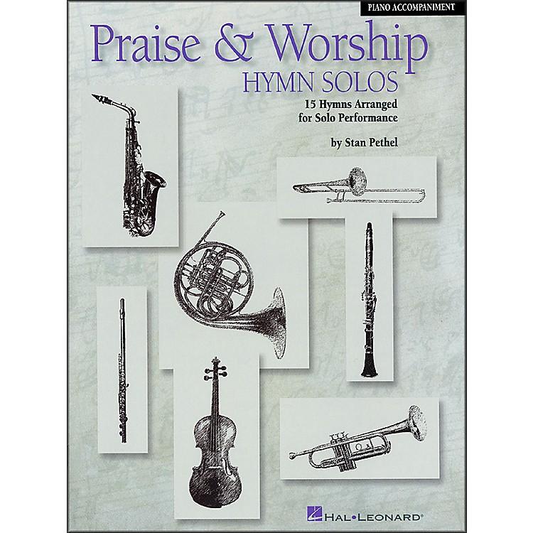 Hal LeonardPraise & Worship Hymn Solos - 15 Hymns Arranged for Solo Performance Piano Accompaniment