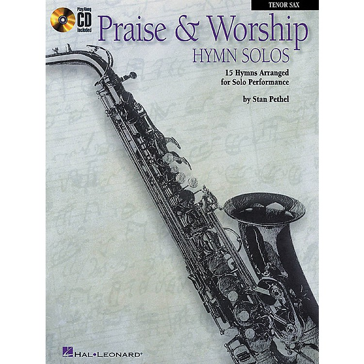 Hal LeonardPraise & Worship Hymn Solos - 15 Hymns Arranged for Solo Performance for Clarinet and Tenor Sax Book/CD