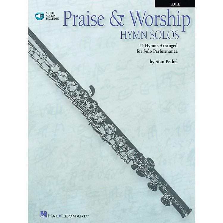 Hal LeonardPraise & Worship Hymn Solos - 15 Hymns Arranged for Solo Performance for Flute Book/CD Pkg