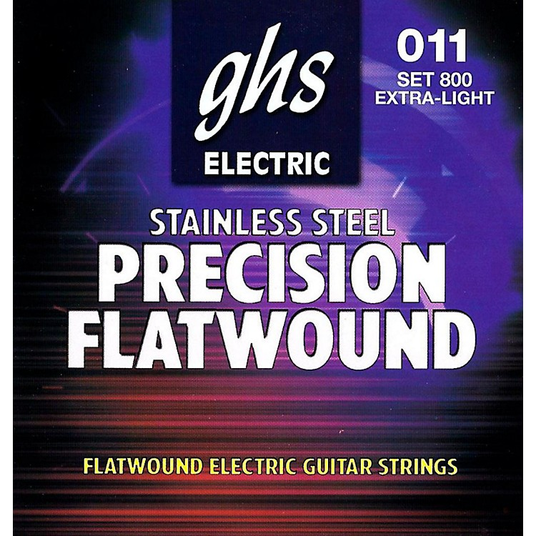 GHSPrecision Flats Electric Guitar Strings (11-46)