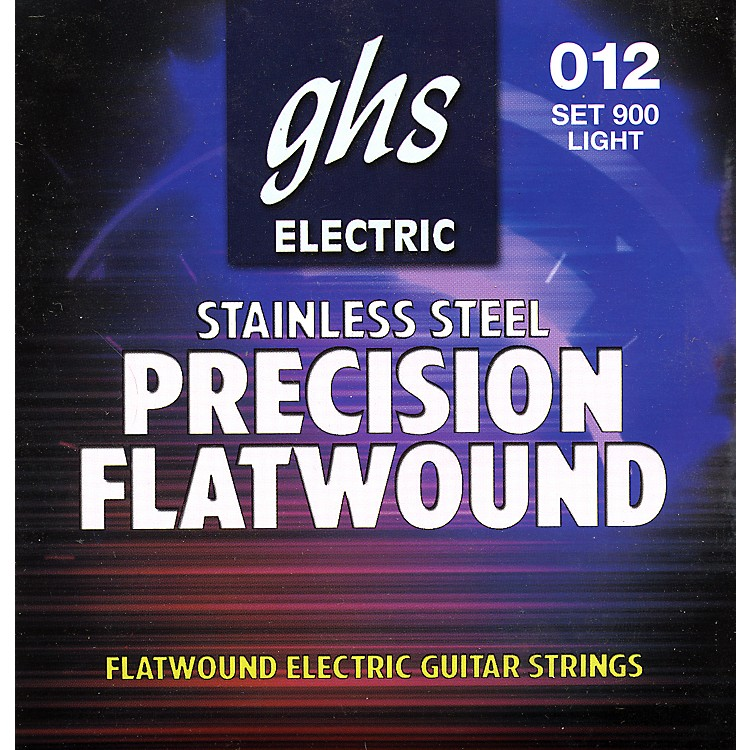 GHSPrecision Flatwound Electric Guitar Strings Light