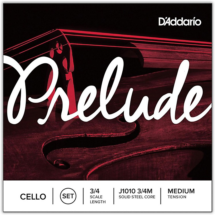D'Addario Prelude Cello String Set  3/4 Size