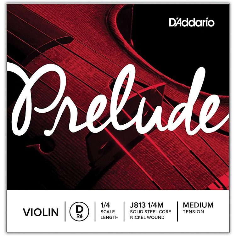 D'Addario Prelude Violin D String  4/4 Size Medium