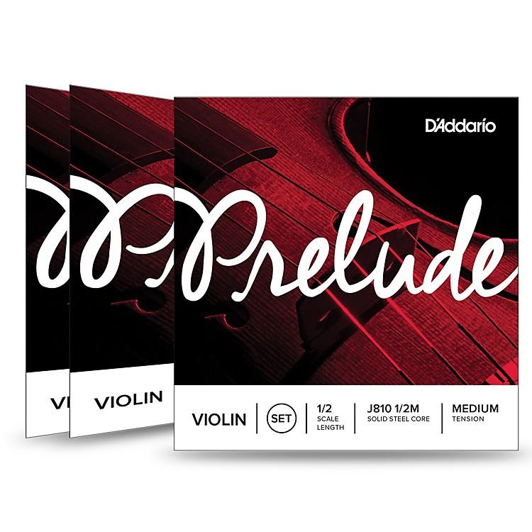 D'AddarioPrelude Violin String Set 3 Box Special1/2 Size, Medium
