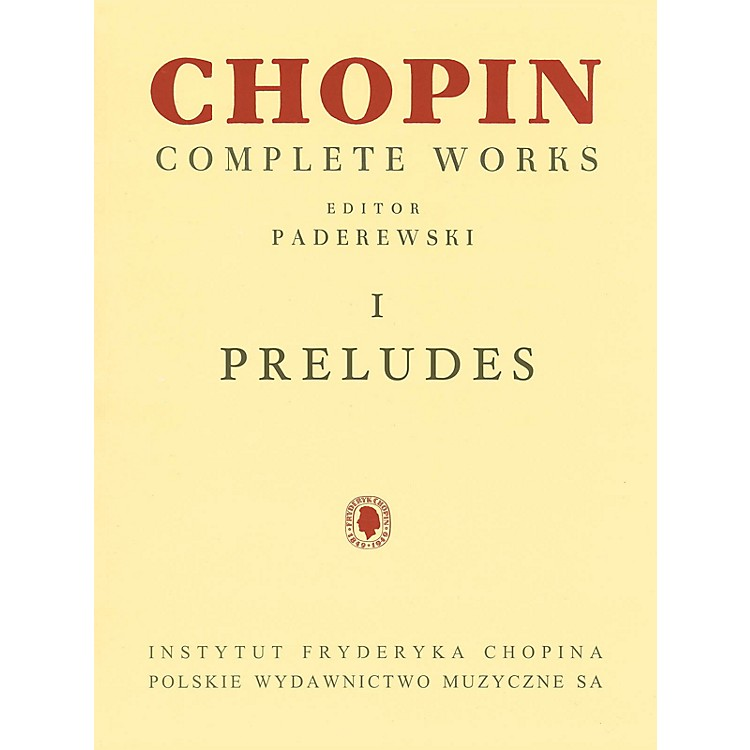 PWMPreludes (Chopin Complete Works Vol. I) PWM Series Softcover