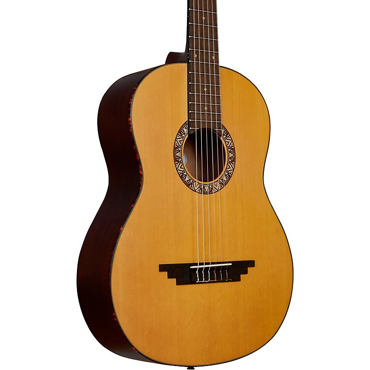 D'Angelico Premier Avellino Crossover Classical Guitar Natural