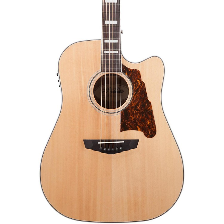 D'AngelicoPremier Bowery Acoustic-Electric GuitarGrey Black