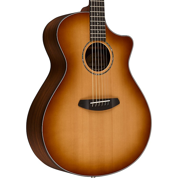 Breedlove Premier Concerto Sitka with Spruce Top Acoustic-Electric Guitar Gloss Sunburst