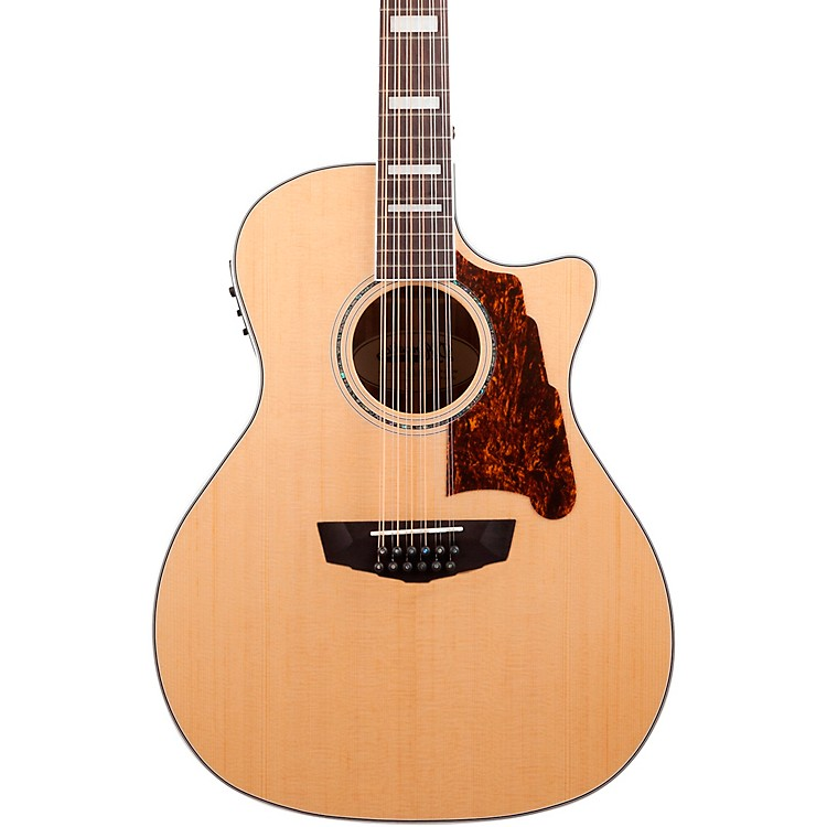 D'Angelico Premier Fulton 12-String Acoustic-Electric Guitar Natural