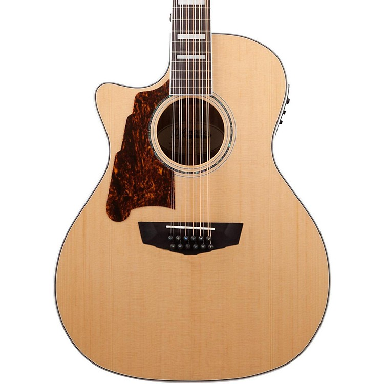 D'AngelicoPremier Fulton Left Handed 12-String Acoustic-Electric Guitar