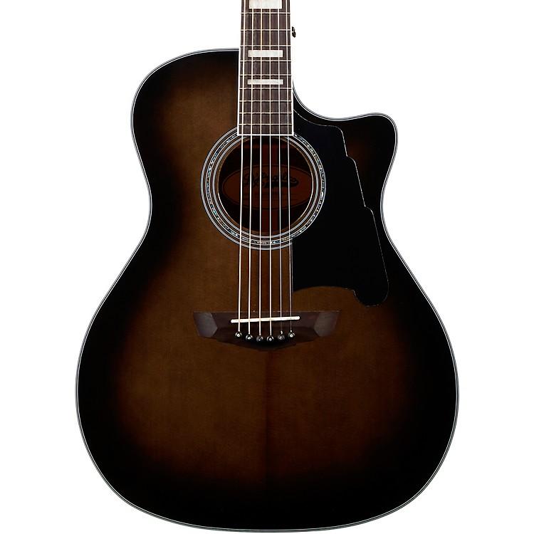 D'AngelicoPremier Gramercy Grand Auditorium Acoustic-Electric GuitarGrey Black