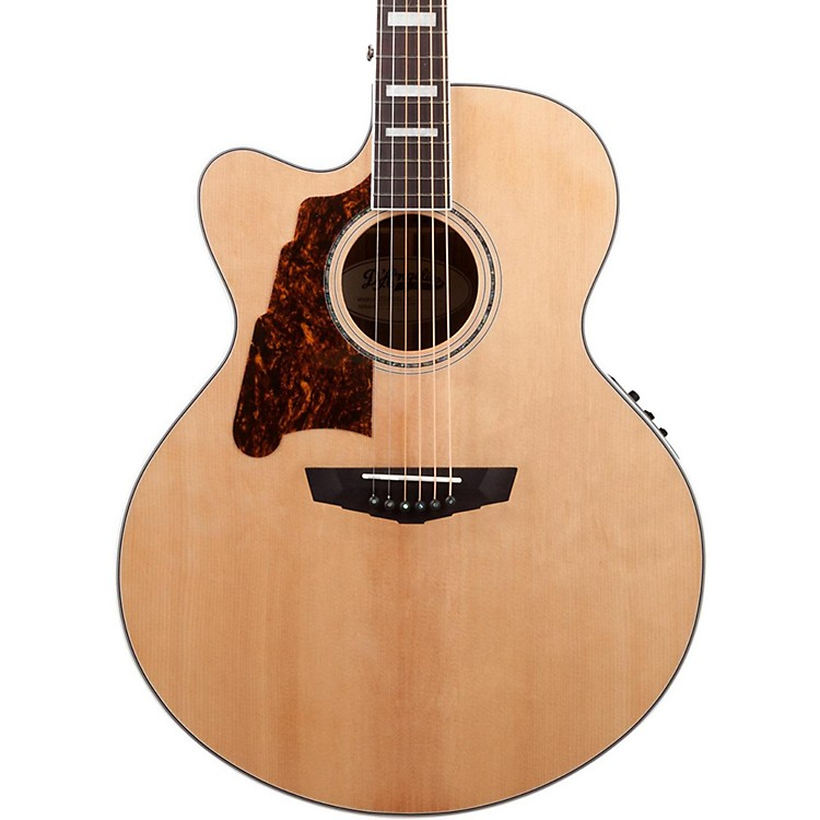 D'Angelico Premier Madison Left Handed Acoustic-Electric Guitar Natural