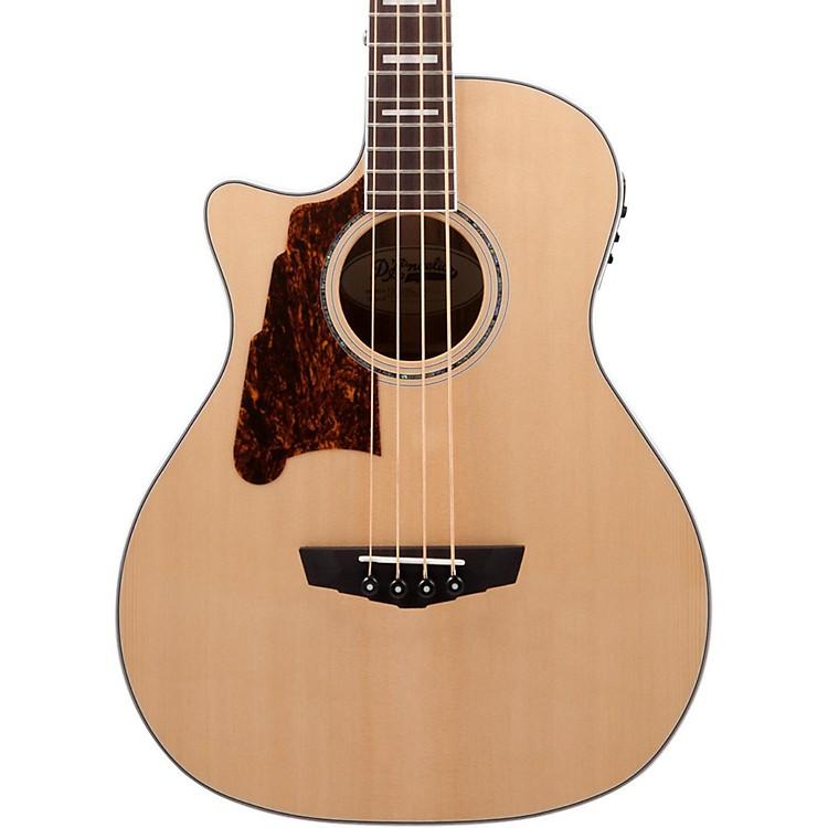 D'AngelicoPremier Mott Left Handed Acoustic-Electric Bass GuitarNatural