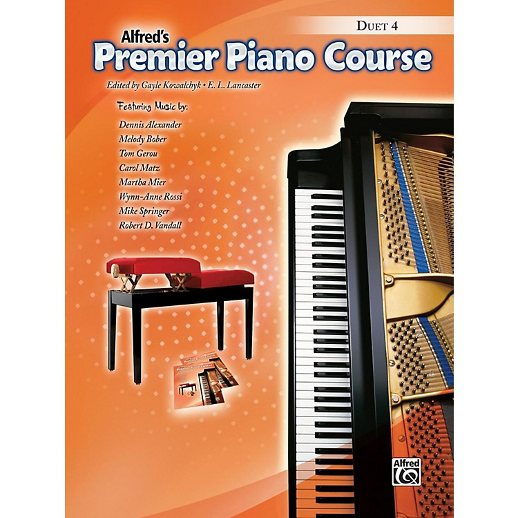 Alfred Premier Piano Course, Duet Book 4