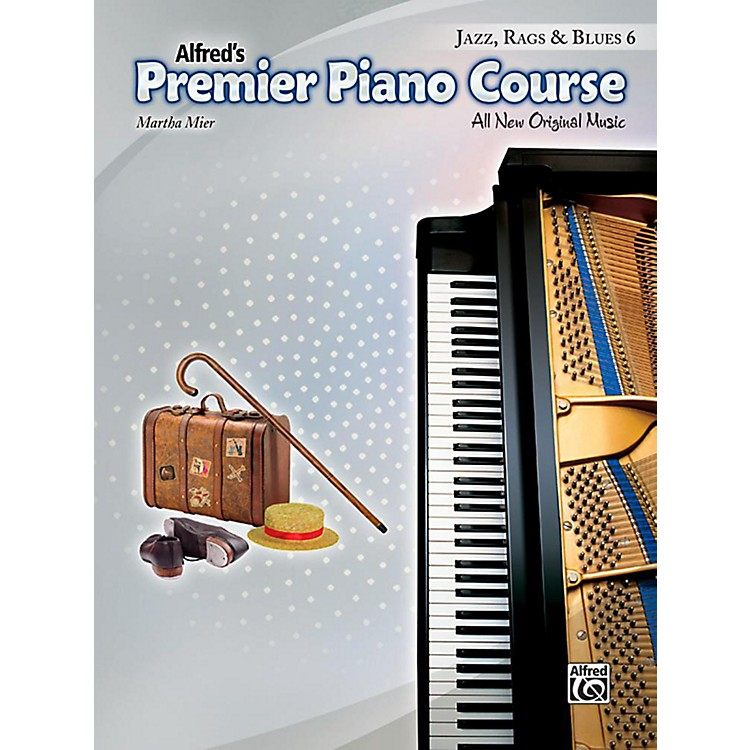 Alfred Premier Piano Course, Jazz, Rags & Blues - Book 6
