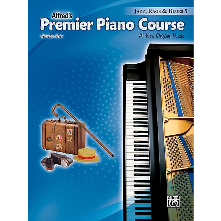 AlfredPremier Piano Course, Jazz, Rags & Blues 5 - Level 5