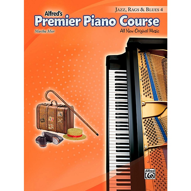 AlfredPremier Piano Course Jazz, Rags & Blues Book 4