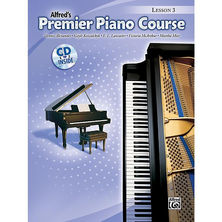 AlfredPremier Piano Course Lesson Book 3 Book 3 & CD