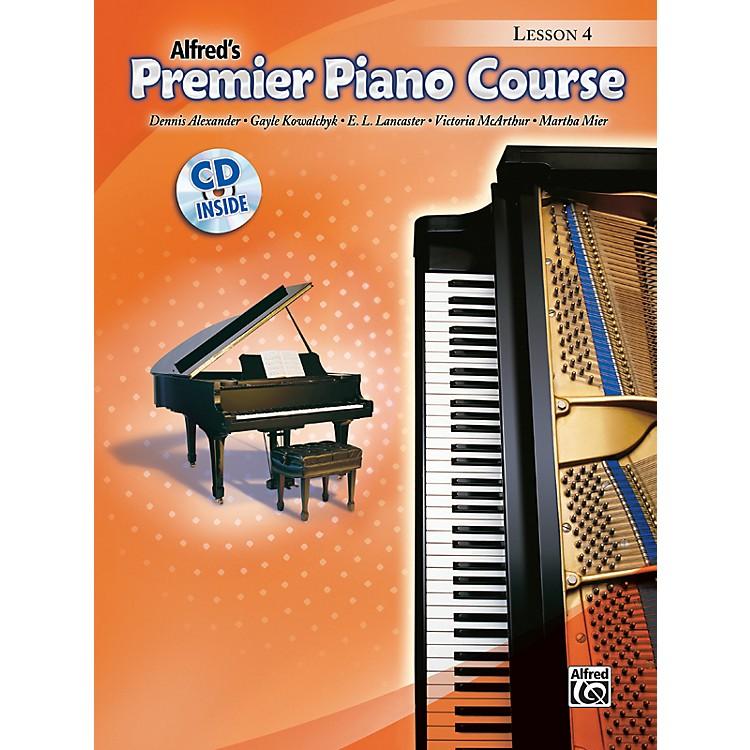 AlfredPremier Piano Course Lesson Book 4 Book 4 & CD