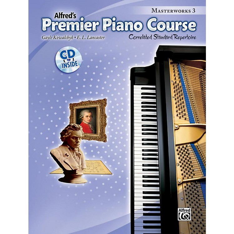 AlfredPremier Piano Course: Masterworks Book 3 & CD