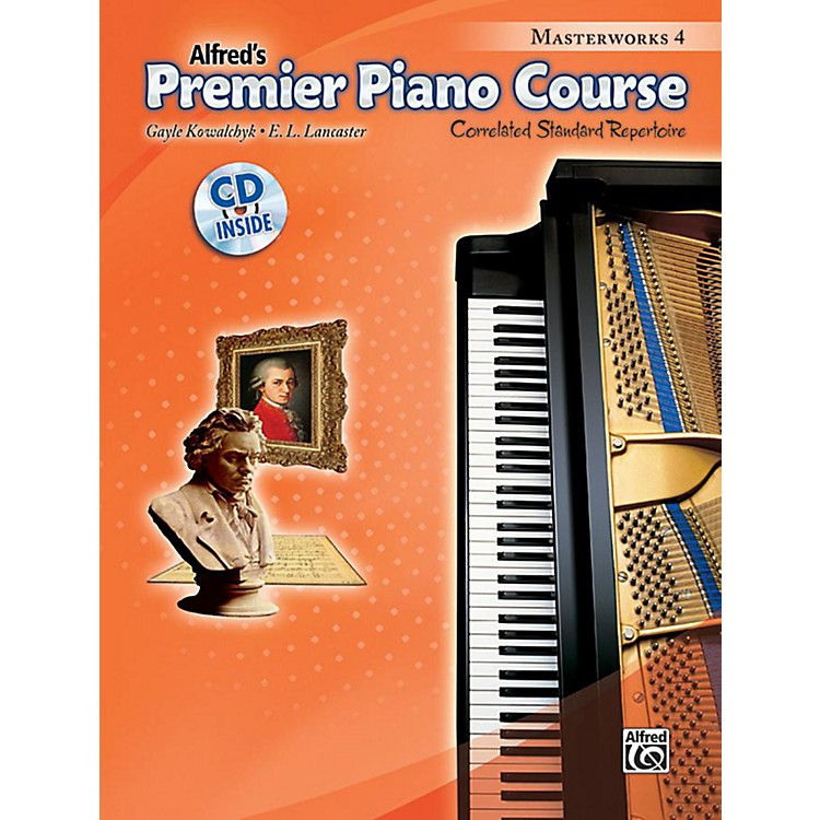 AlfredPremier Piano Course Masterworks Book 4 & CD