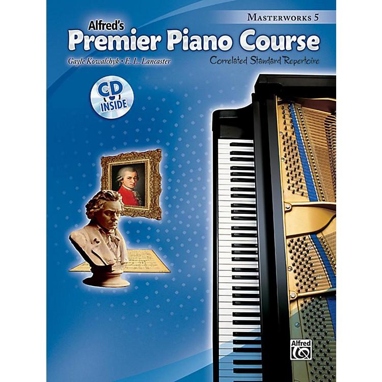 AlfredPremier Piano Course: Masterworks Book 5 & CD