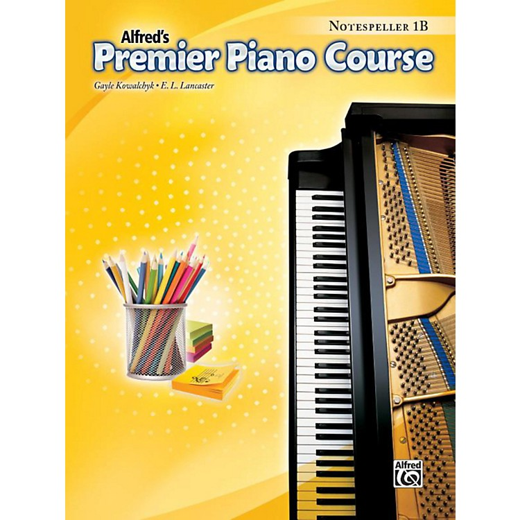 Alfred Premier Piano Course Notespeller Level 1B Book